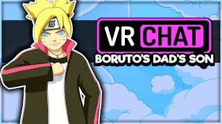 TEACHING BORUTO'S DAD'S SON MANNERS IN VRCHAT! (VRChat Funny Moments, Highlights, Compilations)