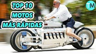 LAS 10 MOTOS Más RÁPIDAS Del Mundo (2017 - 2018)