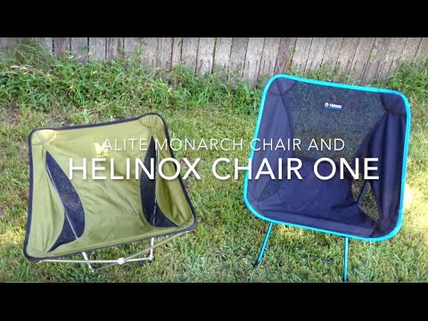 Alite Monarch And Helinox Chair One Review