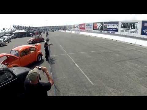 Paul Miller at Fontana Drag Strip for the Bug-In