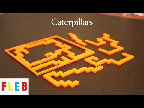 2012 MIT Mystery Hunt Puzzle - Caterpillars