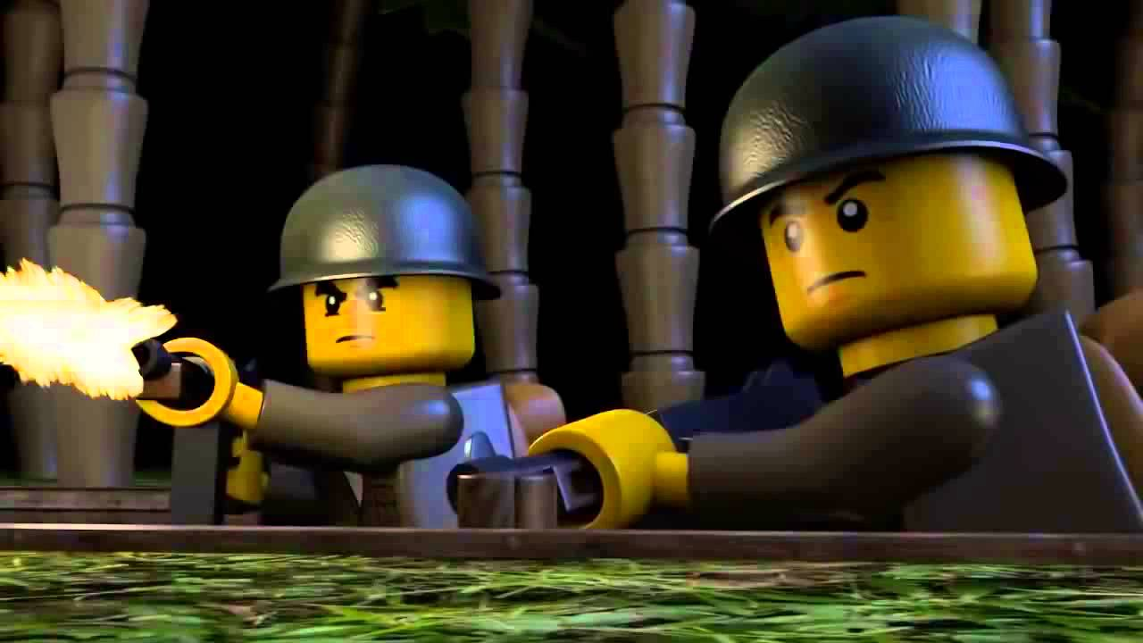 LEGO WAR IN THE PACIFIC Lego City - YouTube