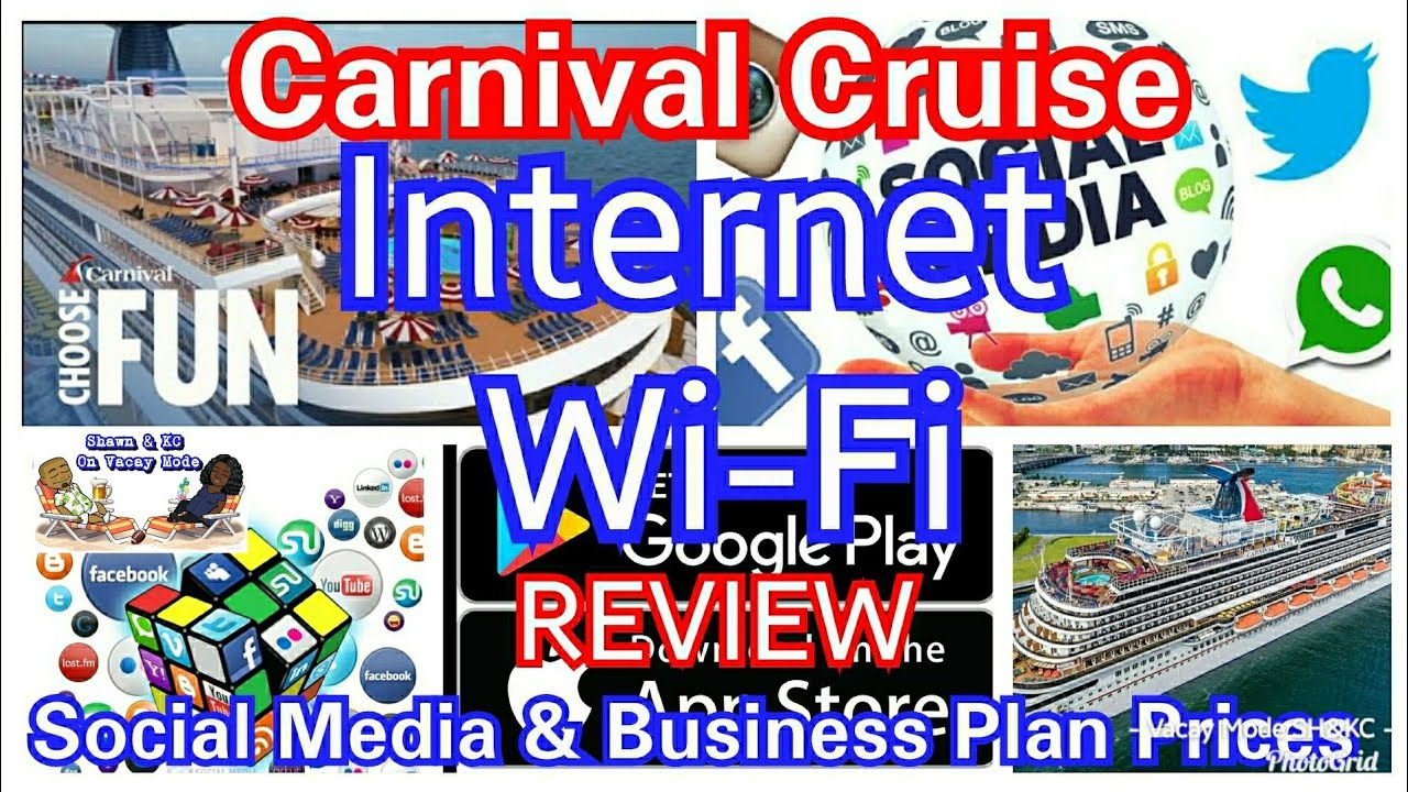 Carnival Cruise Internet >> Carnival Cruise Internet Wi Fi Plans Reviews Cruise Social Media Business Internet Packages