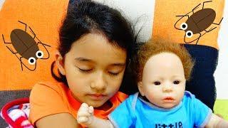 赤ちゃんのベッドにゴキブリが>< 赤ちゃんのお世話☆himawari-CH thumbnail