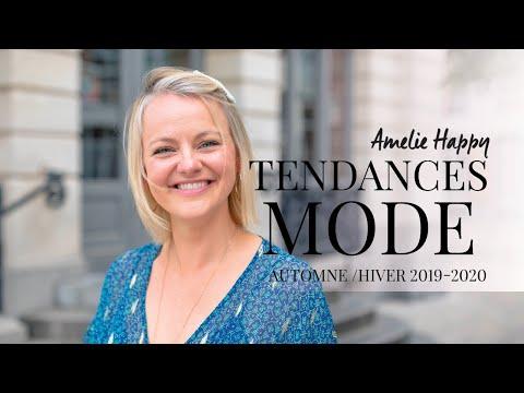 Tendances Automne Hiver 2019-2020- mode femme