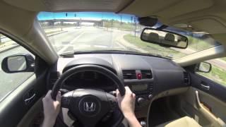 2007 Honda Accord 2.0 i-VTEC 16V POV Test Drive