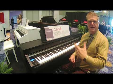NAMM 2018Kawai CA58 Digital Piano with Sean O'Shea