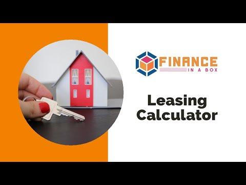 Finance In A Box: Leasing Calculator