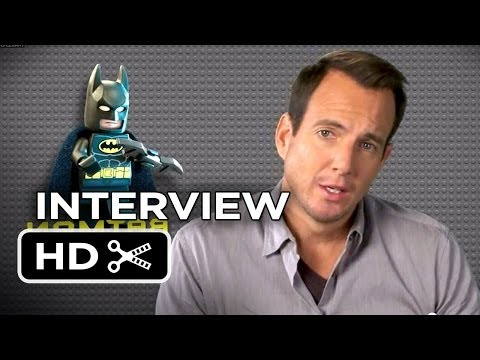 The Lego Movie Interview - Will Arnett is Batman (2014) - Animated Movie HD