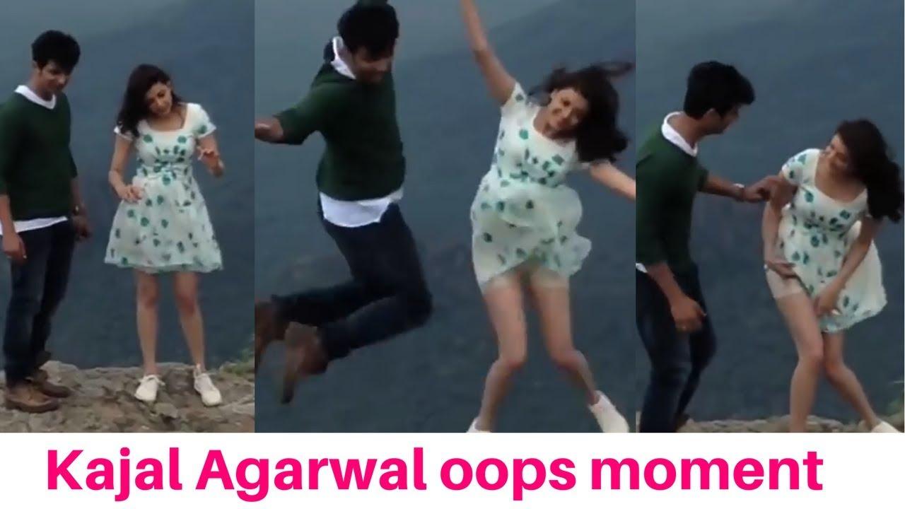 Kajal Agarwal Oops Moment On