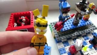 LEGO FNAF пиццерия