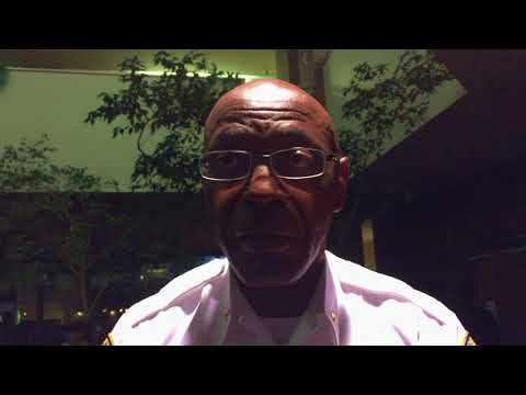 Harrisburg Police Chief Thomas Carter discusses the need for riot gear