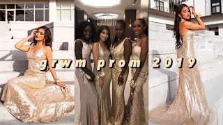 PROM Get Ready with Me + Vlog (senior year) 2019