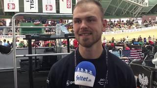 Mathias Møller Nielsen om VM-parløbet med Amalie Dideriksen og  Julie Leth 2019
