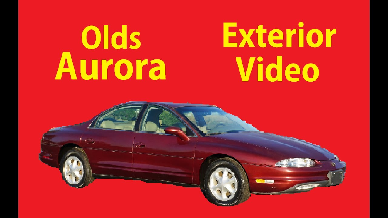 medium resolution of 97 oldsmobile aurora exterior video review for sale northstar