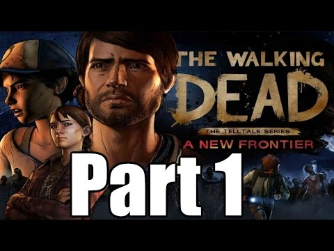 The Walking Dead A New Frontier Gameplay Playthrough #1 - Ties that Bind (Part One)(PC)