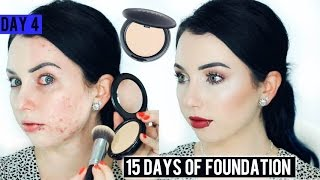 COVER FX TOTAL COVER CREAM Foundation {First Impression Review & Demo!} 15 DAYS OF FOUNDATION