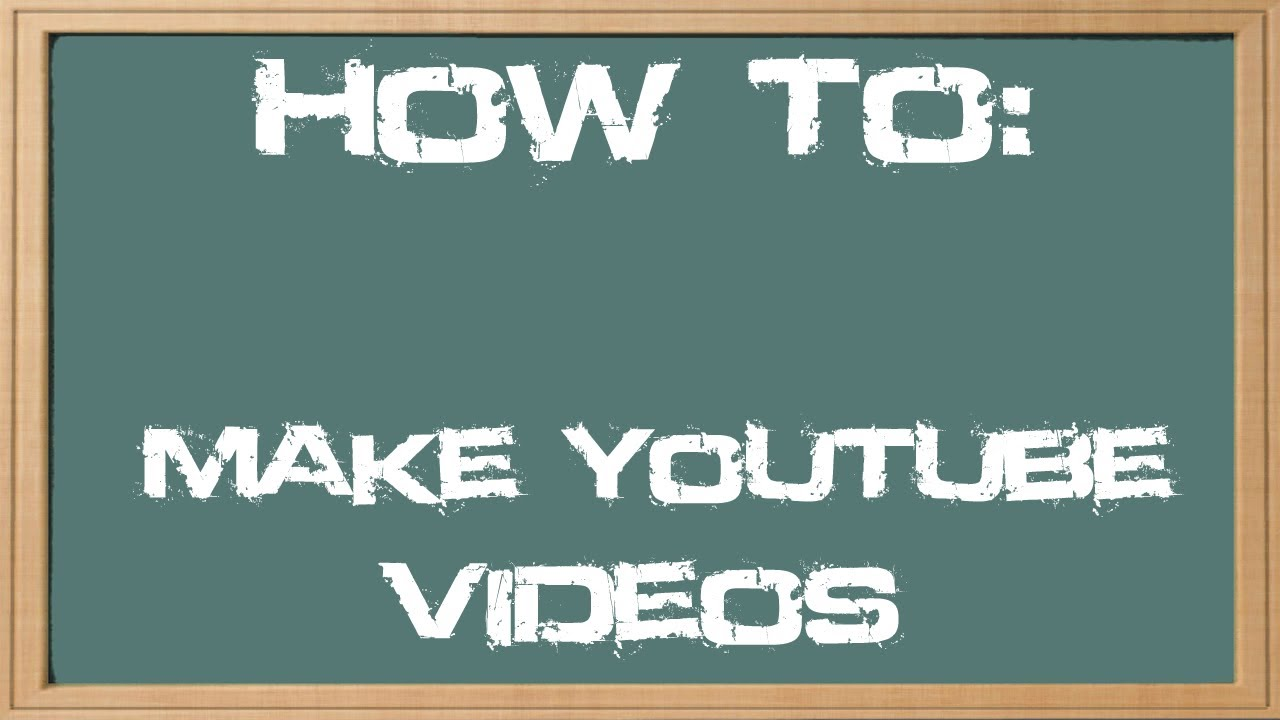 How to Make YouTube Gaming Videos (1080p/720p)