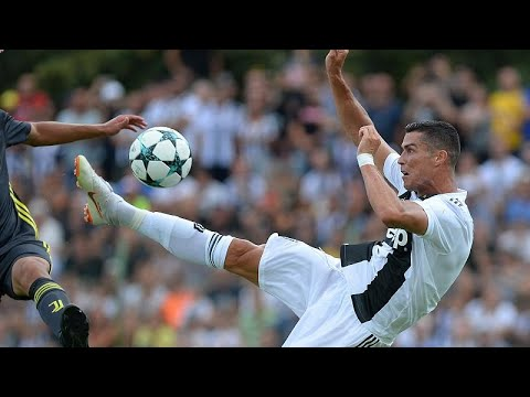 Juventus Il Primo Gol Di Ronaldo Youtube