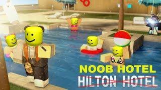 Trolling at Hilton Hotel (No-Clip)!!