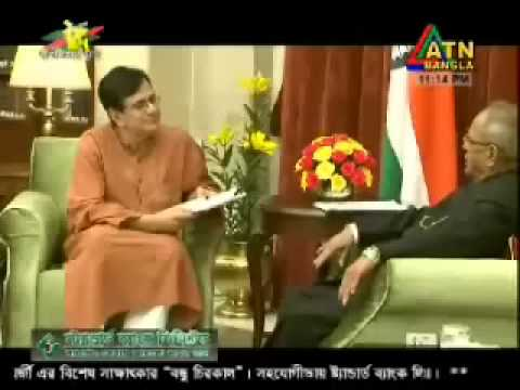interview with Pranab Mukherjee