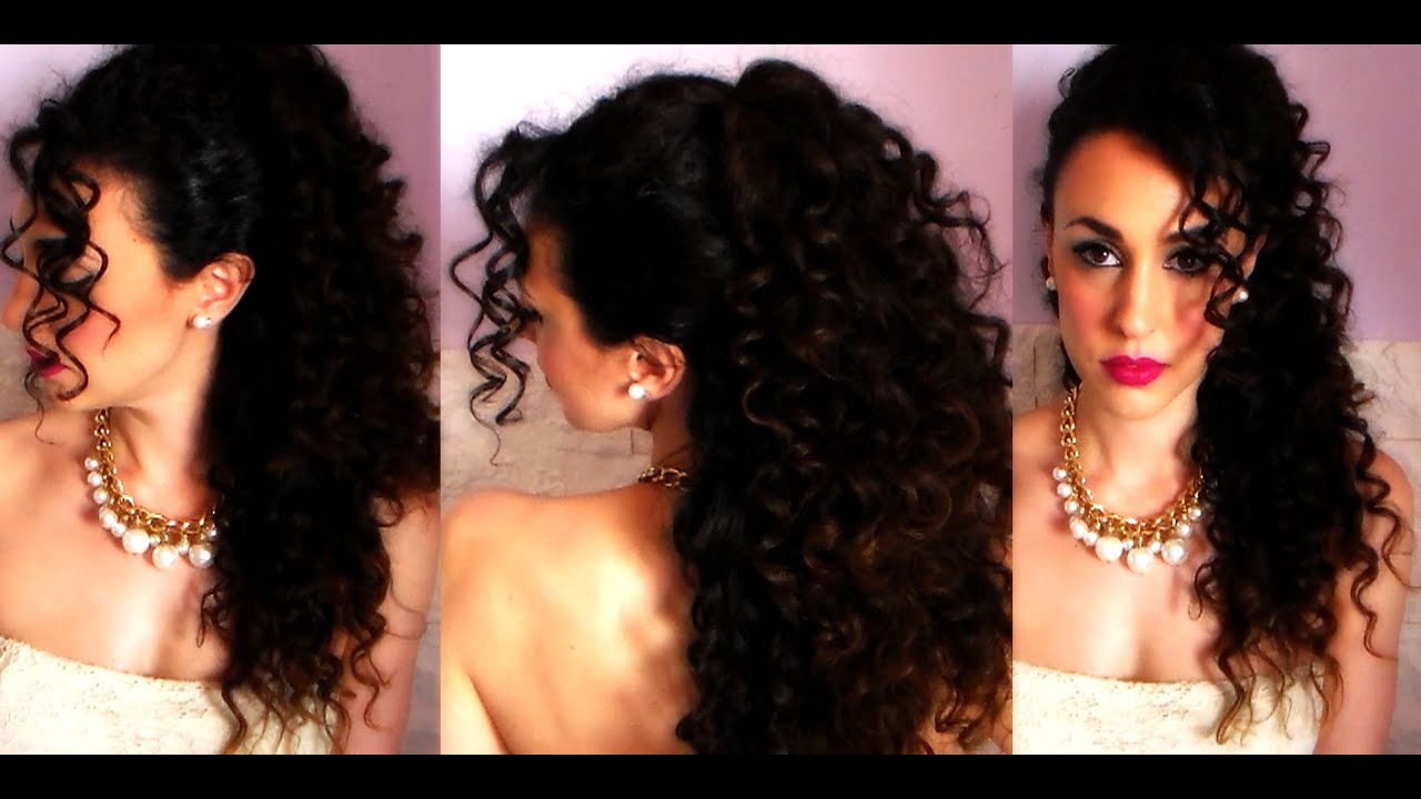 Wedding Look 2015 Acconciatura Per Capelli Ricci