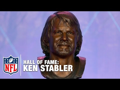 John Madden Presents Ken Stabler into the Hall of Fame | 2016 Pro Football Hall of Fame | NFL