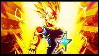 THE PRINCE OF ALL SAIYANS! 100% LR MAJIN VEGETA SHOWCASE! Dragon Ball Z Dokkan Battle