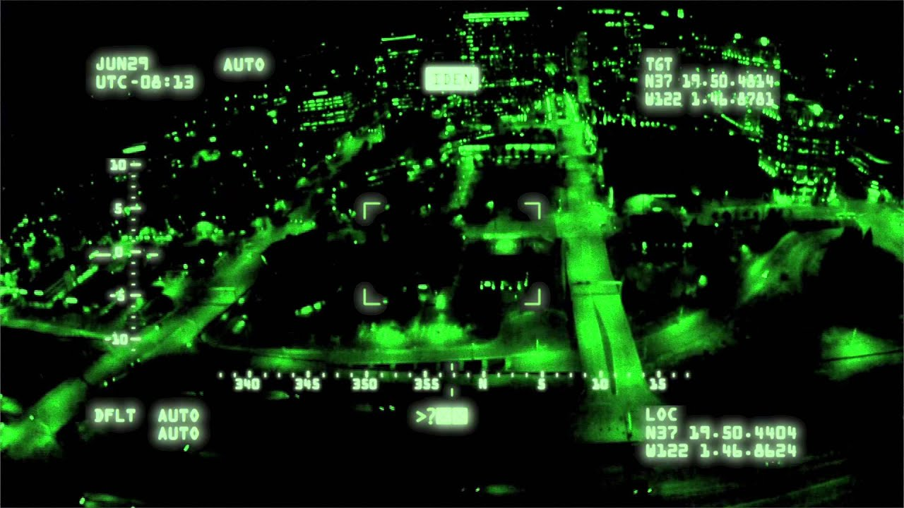 Night Vision Police Drone Cam Test Youtube