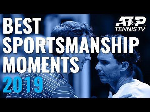 Best ATP Sportsmanship Moments In 2019