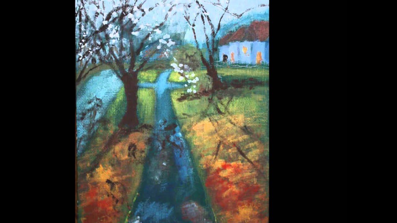 Dipinti di paesaggi youtube for Paesaggi marini dipinti