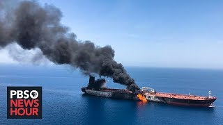 After suspected attacks on Mideast oil tankers, U.S. blames Iran