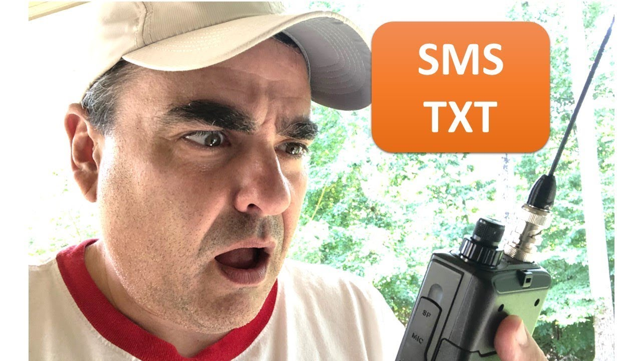 Download Sending SMS text message with ham radio