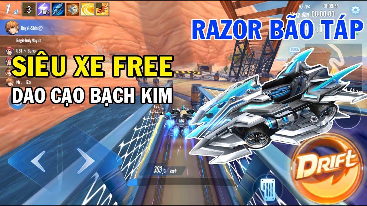 ZingSpeed Mobile   Xe Free Razor Bão Táp - Dao Cao Bạch Kim Cấp S