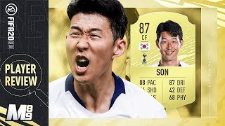 FIFA 20 SON REVIEW | 87 SON PLAYER REVIEW | FIFA 20 Ultimate Team