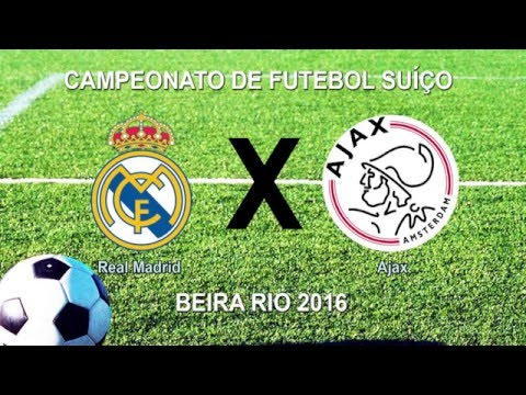 Camp Beira Rio 4ª RODADA - REAL MADRID 2 x 4 AJAX