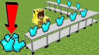 ELMAS ZIRH FABRİKASI YAPIYORUZ! - Minecraft