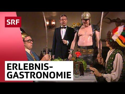 «Action» im Restaurant mit Polo Hofer | Viktors Spätprogramm | SRF Comedy