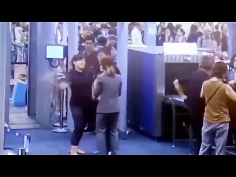 Don Action Jackson - What NOT To Do At Airport Security: Slap The Agent