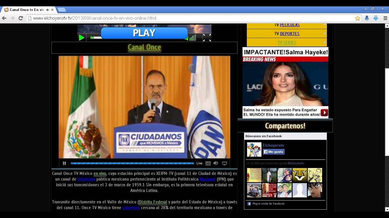 Canal 11 mexico en vivo por internet ( canal 11 online, canal 11 en vivo)