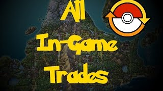 All Trade Pokemon (Pokemon Diamond/Pearl/Platinum)