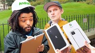 95% of Android Users Didn't Know THIS... – I Gave New Phones to Strangers