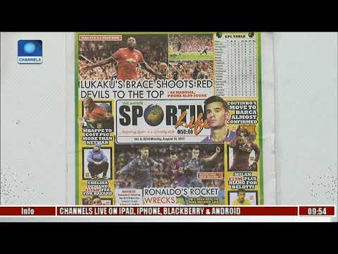 Newspaper Review: Conte  Says He Misses Moses l Sports This Morning l