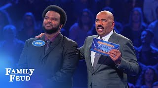 Craig Robinson KILLS Fast Money! | Celebrity Family Feud