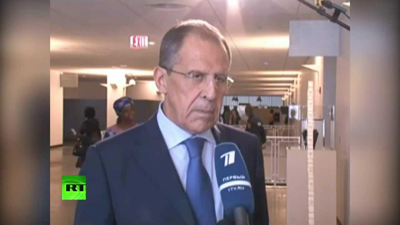 Лавров: В переговорах с США по Сирии мы добились своих целей