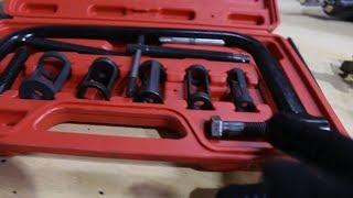 Обзор моего инструмента для рассухаривания клапанов и притирки клапанов