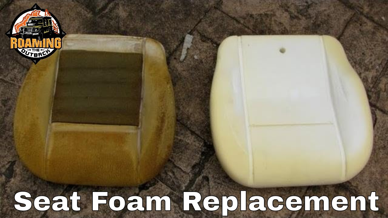 Gentil Defender Seat Foam Replacement   How To Replace Your Seat Foam Base    YouTube