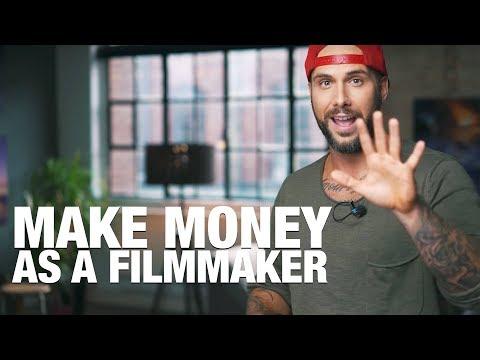 How to make money as a filmmaker 🎥 5 WAYS