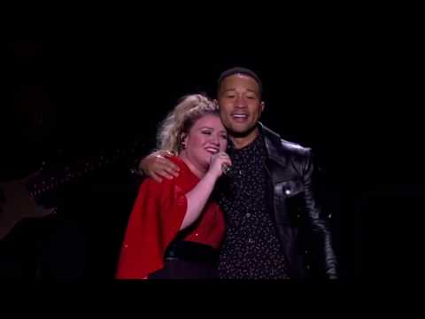 Kelly Clarkson - Minute + a Glass of Wine Ft. John Legend (Los Angeles, CA)