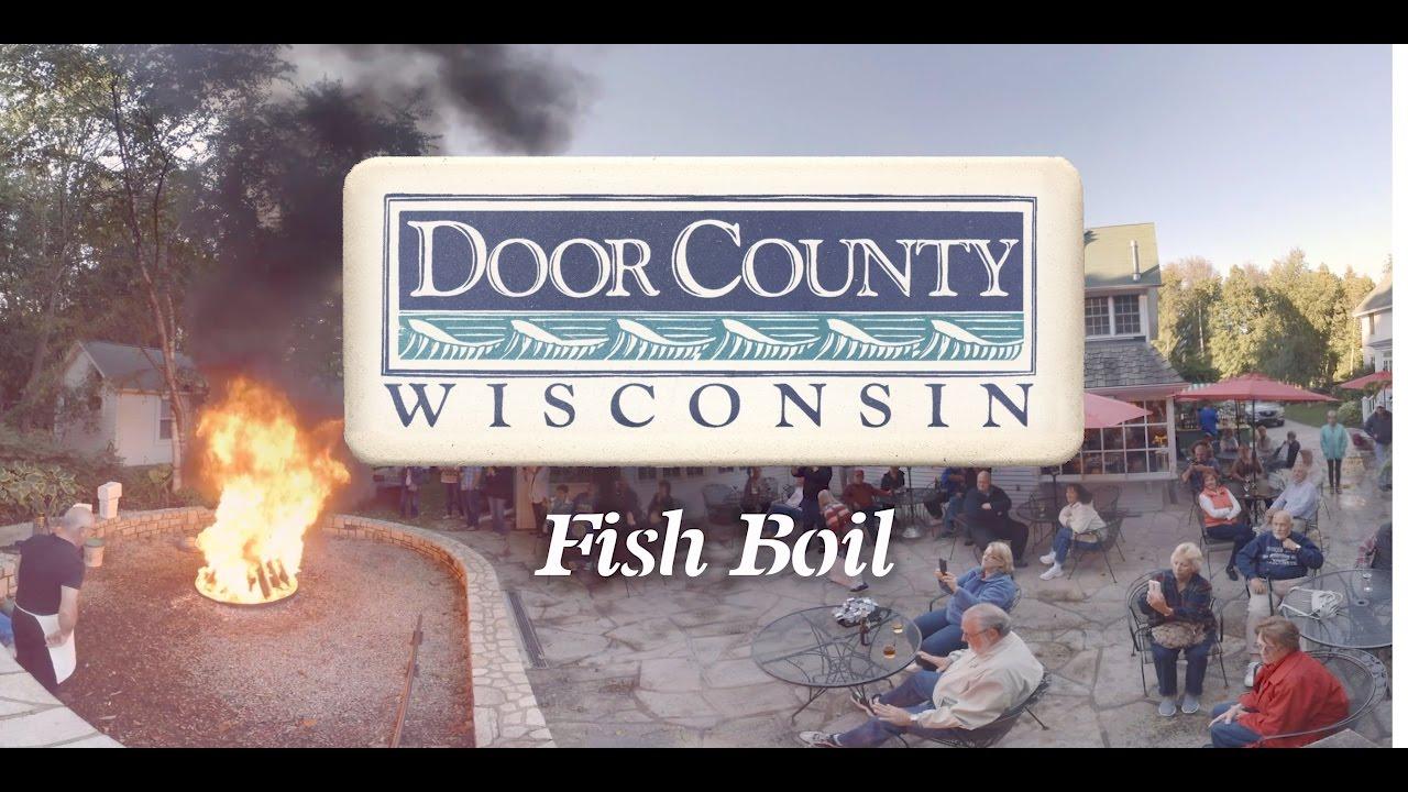 Fish boil 360 door county full video youtube for Door county fish boil
